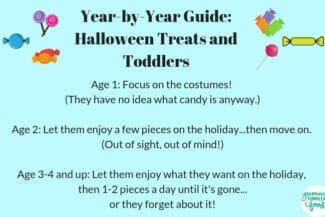 Year-By-Year Guide to Halloween Treats and Toddlers