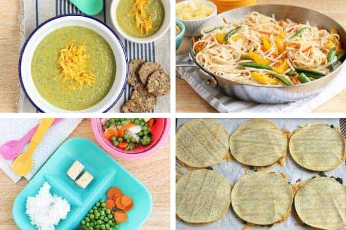 healthy family meals vegetarian