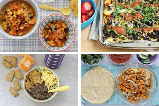 healthy family meals with beans