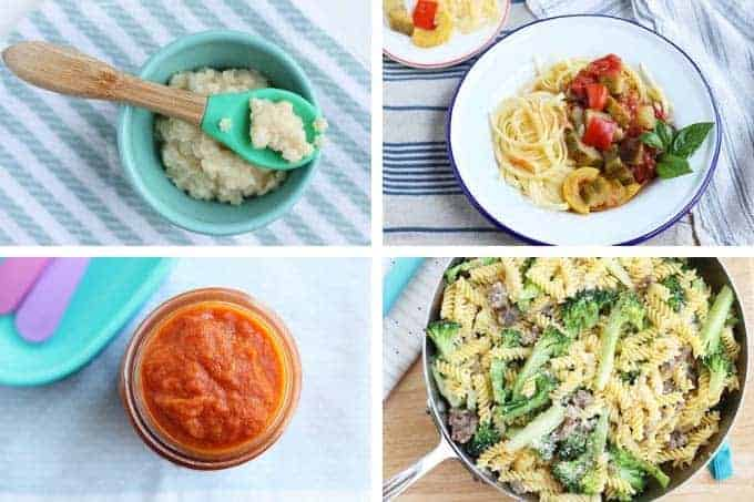 healthy family meals with pasta