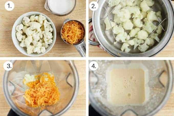 how to make cheese sauce step by step