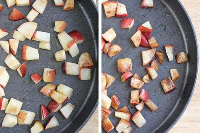 how to make sauteed apples step by step