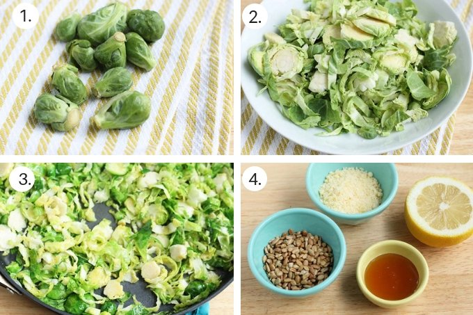 how to sauteed brussels sprouts step by step