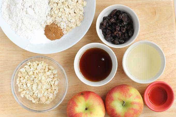 ingredients-in-apple-cookies