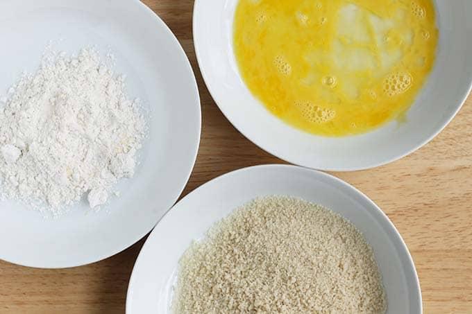 ingredients in breaded tofu nugget coating