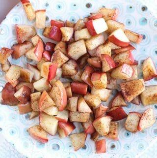 simple sauteed apples