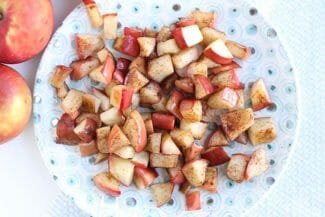 simple sauteed apples
