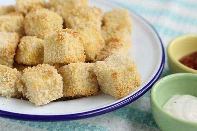 breaded tofu nuggets