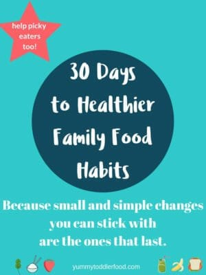 30 Days to Healthier Family Food Habits
