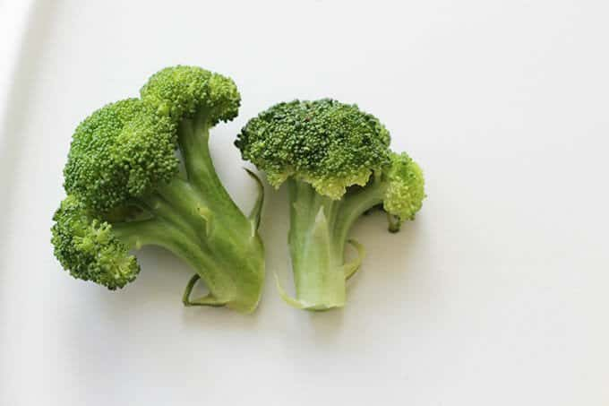 broccoli for baby led weaning