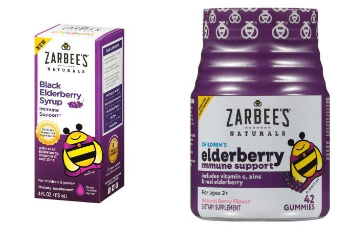 elderberry syrup and gummies for kids