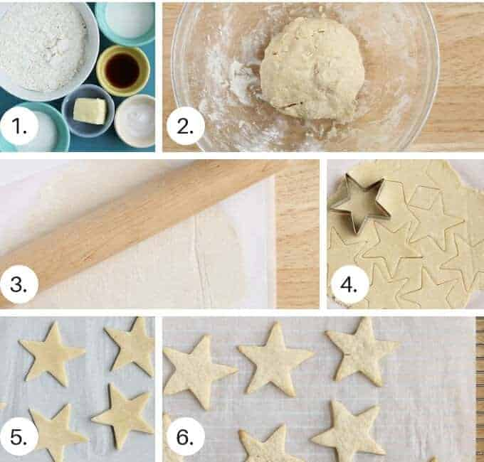 how to make healthy sugar cookies step by step