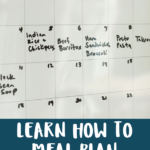 how to meal plan pin