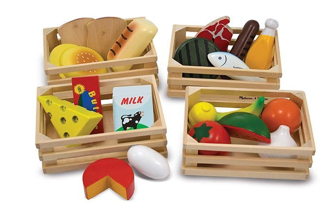 melissa and doug food group set