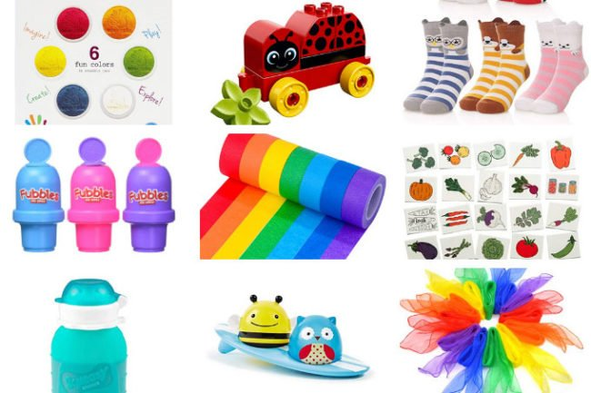 creative stocking stuffers for toddlers in grid