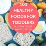 100 foods for toddlers pin 1