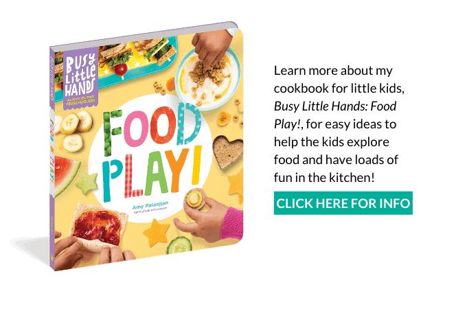 food play cookbook ad