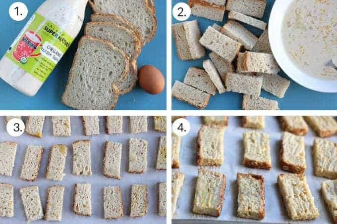 how to make french toast sticks step-by-step