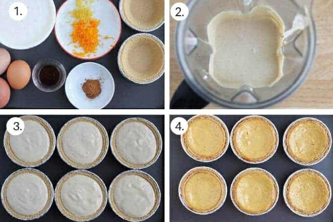 how to make ricotta cheesecake step-by-step