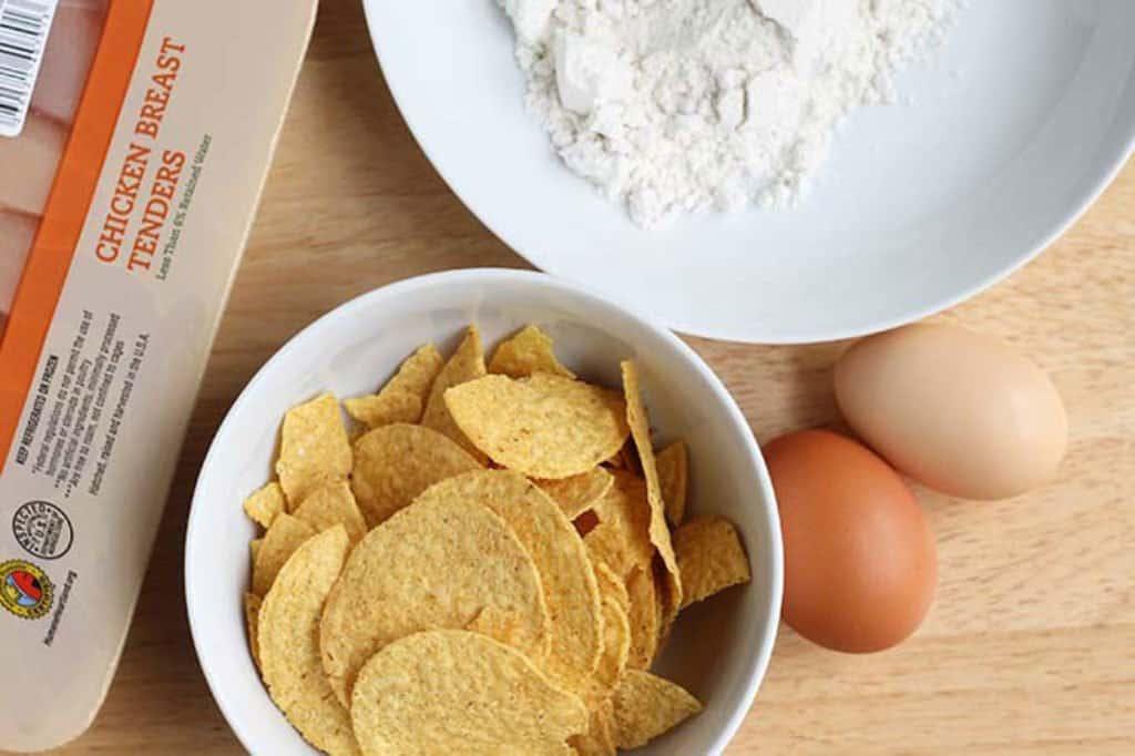 ingredients in baked chicken tenders