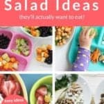 kids salad pin