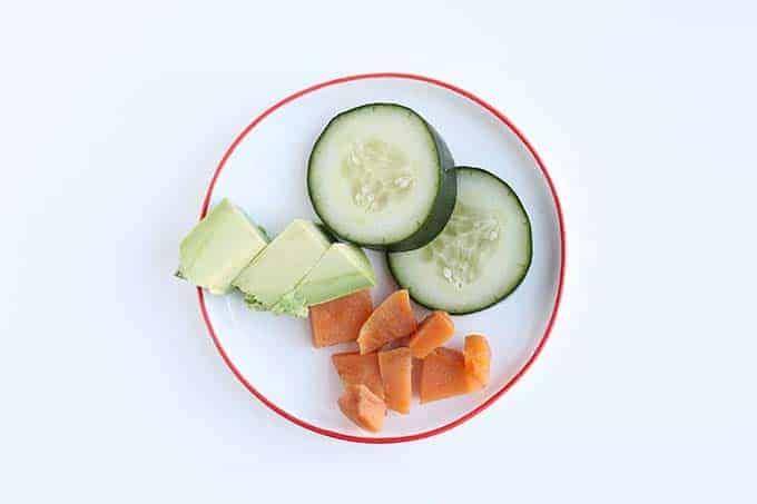 leftover veggies
