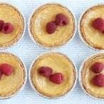 mini ricotta cheesecakes with lemon