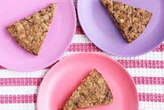 Healthy Chocolate Chip Oatmeal Cookie Cake Recipe