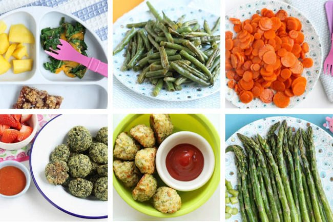 healthy vegetable recipes in grid