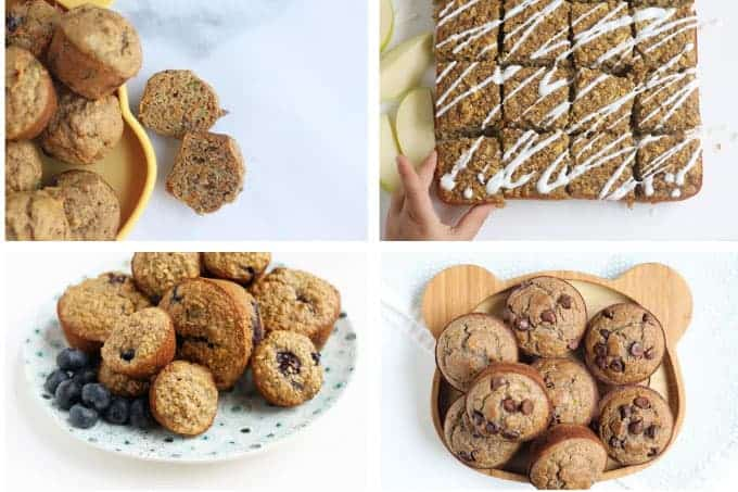 kids-breakfast-ideas-with-MUFFINS-in-grid
