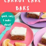 carrot cake bars pin