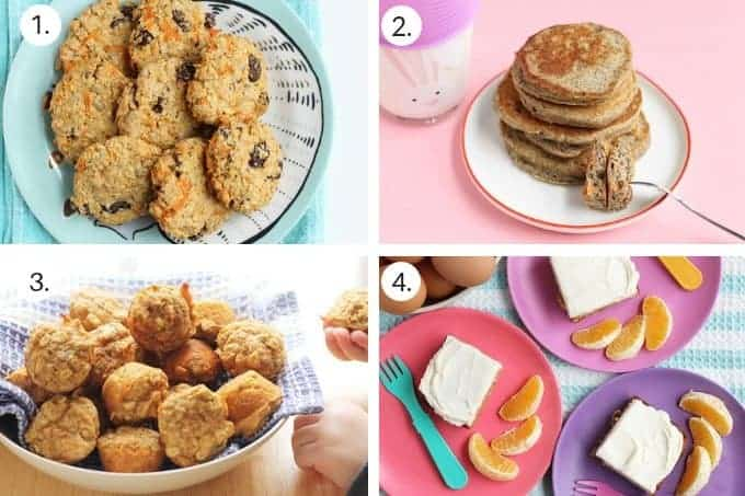 easter recipes in grid of 4