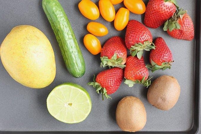 ingredients in fruit salsa