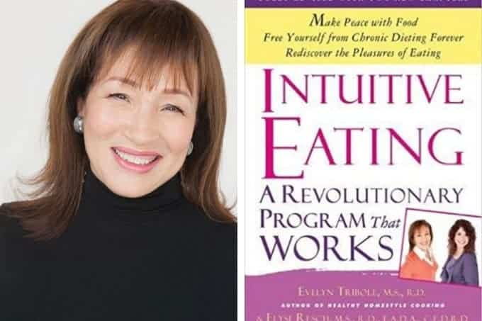 intuitive eating cover and author