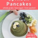 spinach pancakes pin 1