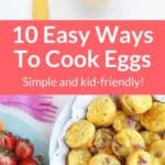 how to cook eggs pin