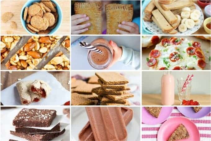 kids food featured grid of 12