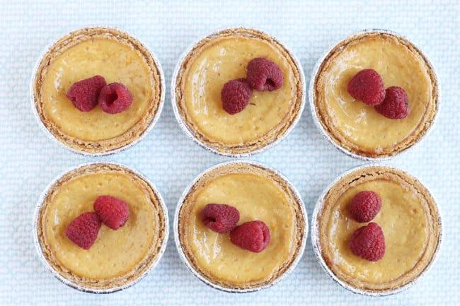 mini-ricotta-pies-with-raspberries