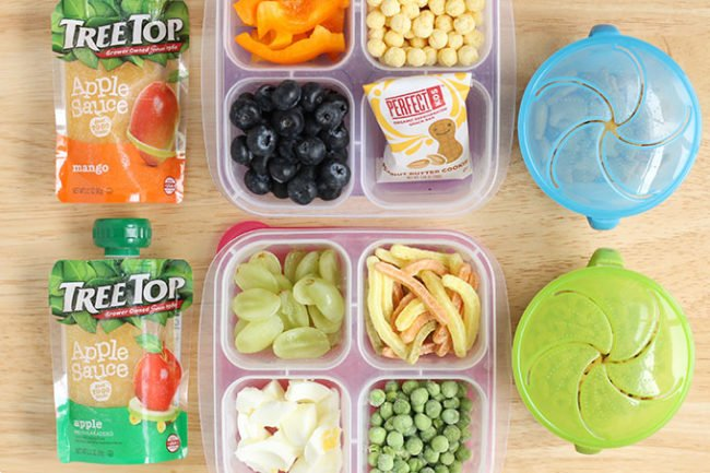 healthy travel food for kids in containers