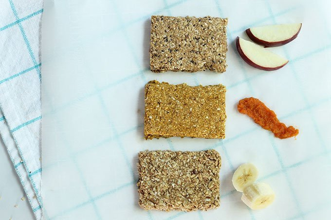granola bar recipe with fruit and veggies