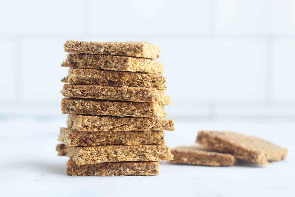 stack-of-homemade-granola-bars