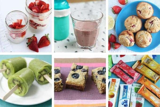 familyh meal plan breakfasts and snacks