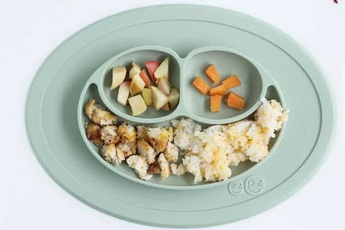 chicken-nuggets-and-cheesy-rice