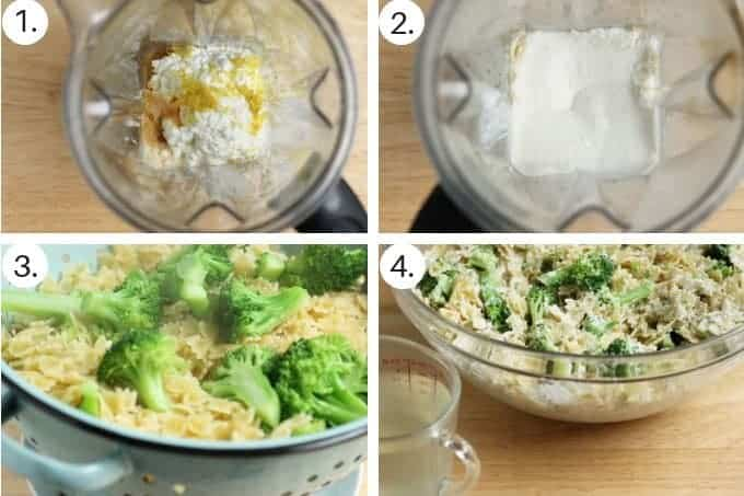 how to make broccoli pasta step by step