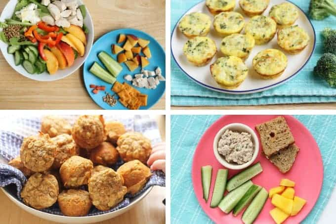 kids lunch recipes for at home in grid