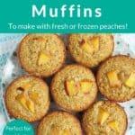 peach. muffins pin