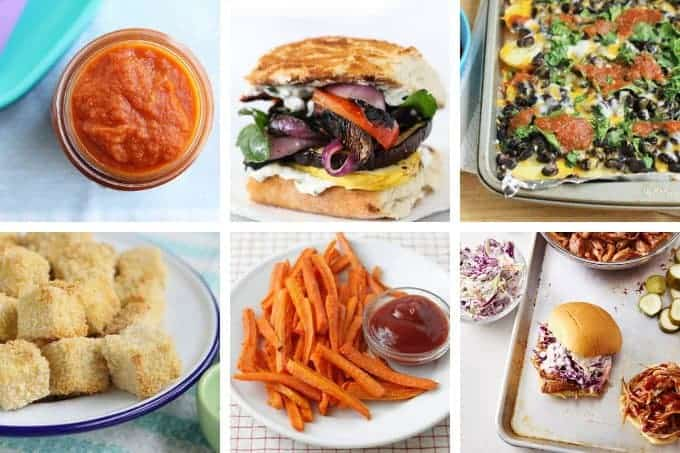 week 28 meal plan in grid of 6