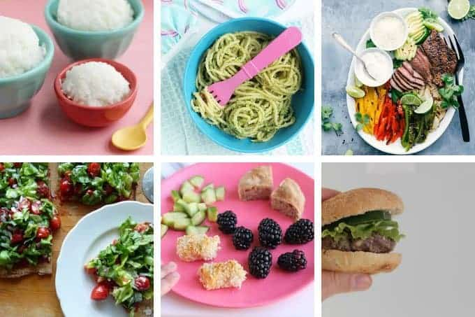 week 29 meal plan dinners in grid
