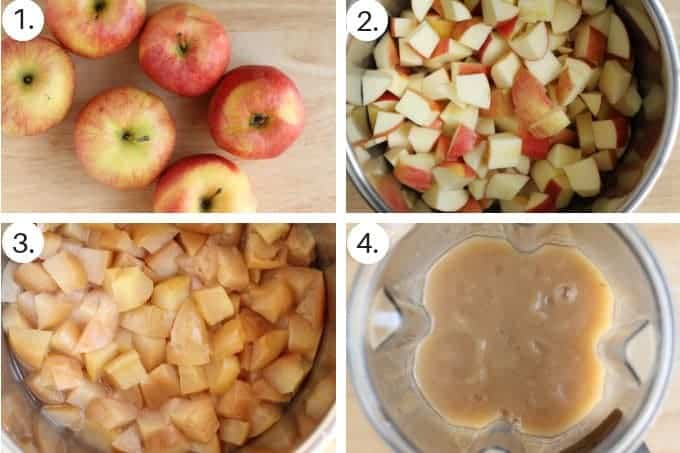how to make instant pot applesauce step by step
