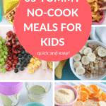 no cook meals pin